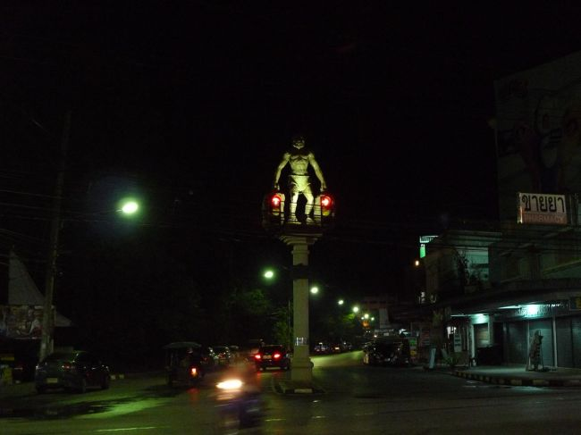 Traffic light art