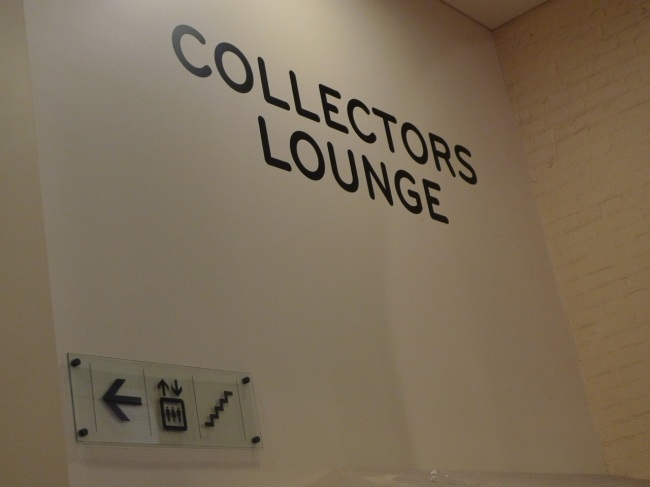 crashing the collectors lounge