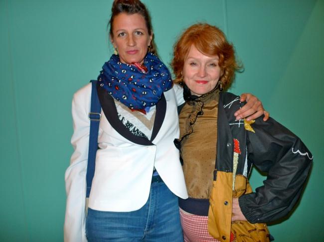 Jacqui Stockdale and Nadine Christensen