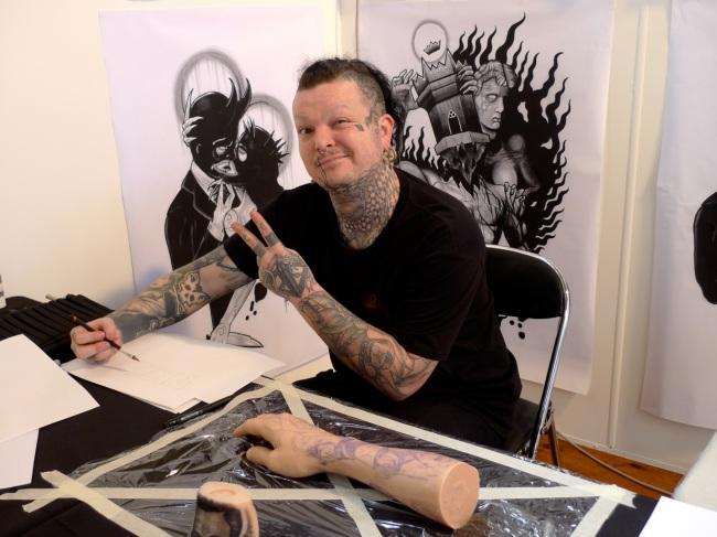 Mat Rogers ink