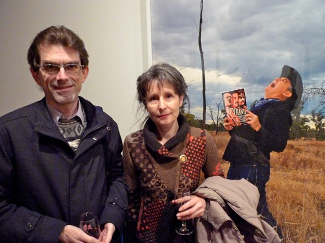 Stephen Winter and Elizabeth Weissensteiner