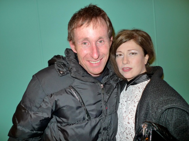 Stuart Ringholt and Sue Dodd