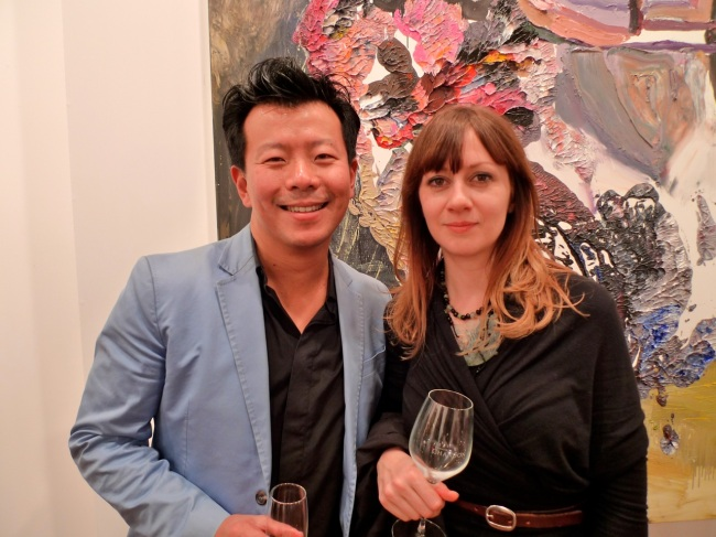 Terry Wu and Heidi Yardley