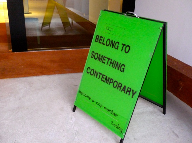 belong to something contemporary