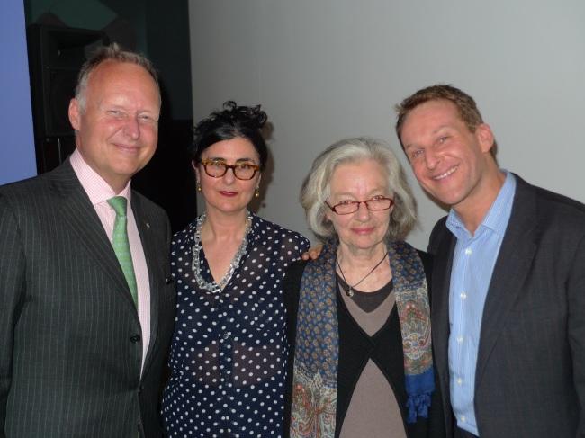 Rupert Myer, Naomi Cass, Pat Brassington and Leonard Vary