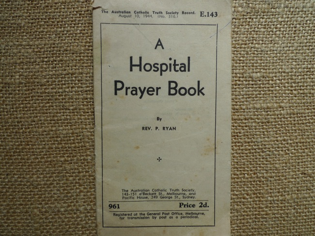 Hospital Prayer Book 1944