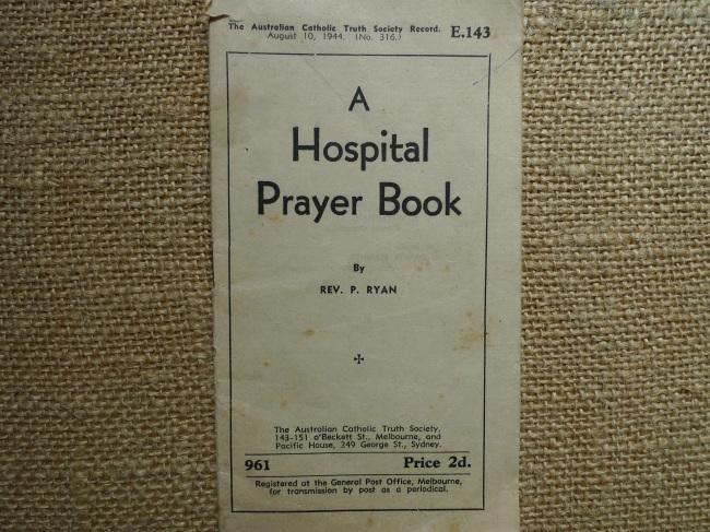 Hospital Prayer Book 1944