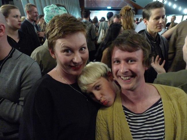 Agatha Goethe Snape, Lara Thoms and Mitch Cairns