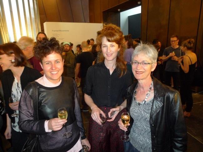 Alicia Frankovich, Hannah Mathews and Judith Klepner