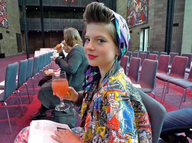 Fashion blogger Tallulah Shellew (artkidtallulah)