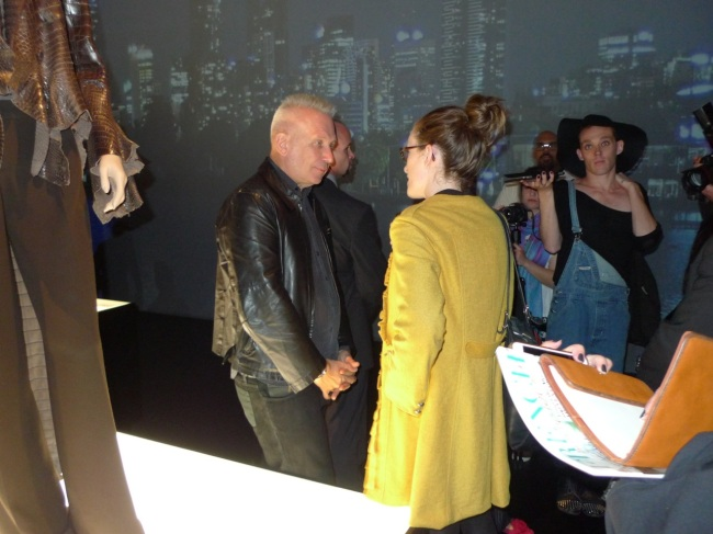 Interviewing Jean Paul
