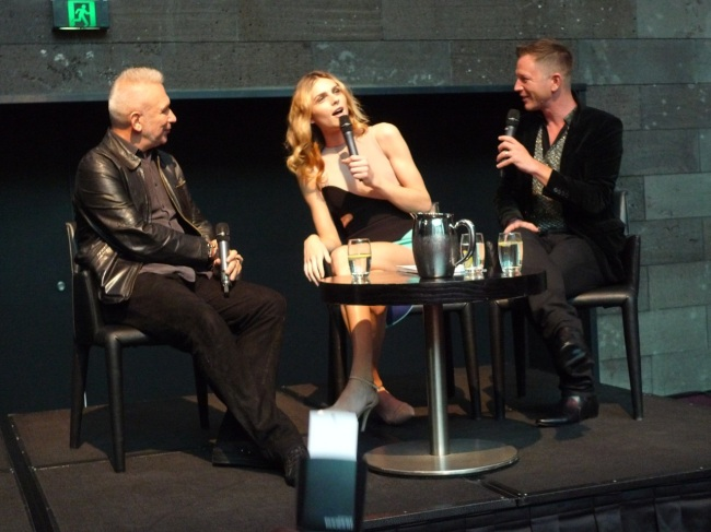 Jean Paul, Andreja Pejic and Thierry
