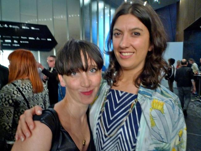 Jess Olivieri and Brooke Stamp