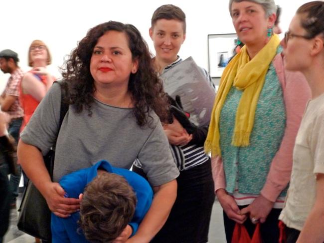 Lucretia, Reuben, Julie and Monica