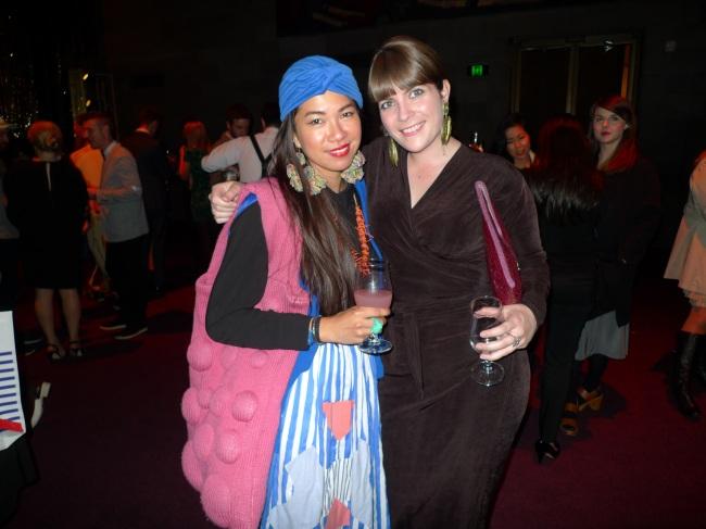 Mariam Marcilla and Nadia Buick