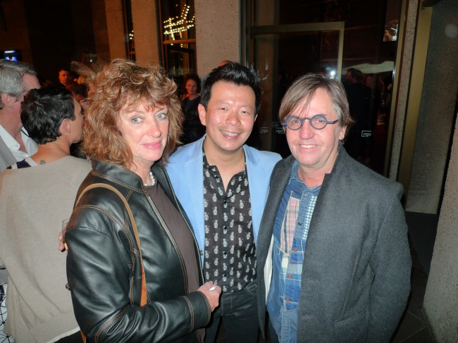 Maudi Palmer, Terry Wu and Mark Chapman