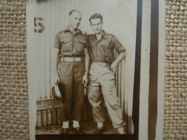 Poppy Tom (left) smoking