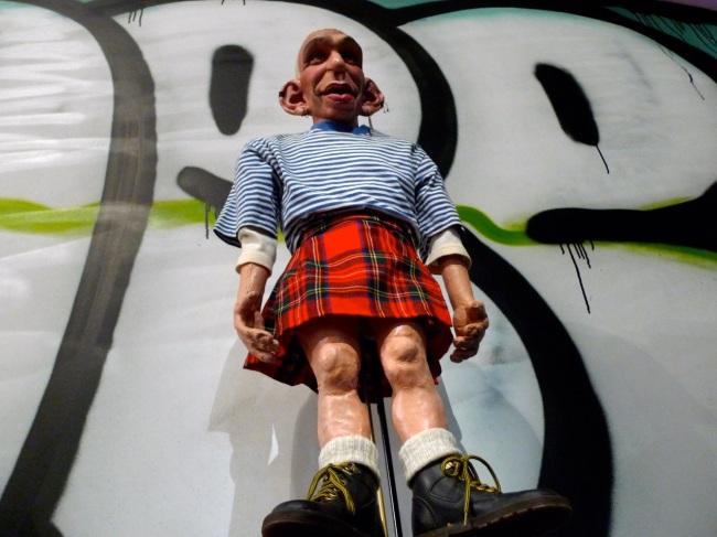 'Spitting Image' doll