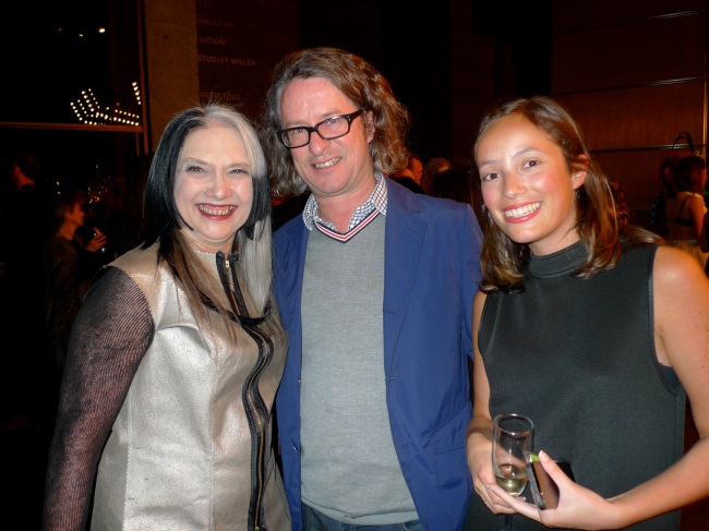 Susan Cohn, Max Delaney and Lily Mora
