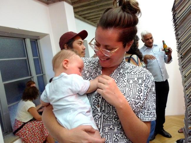Baby Miro with Aunty Lauren Dunn