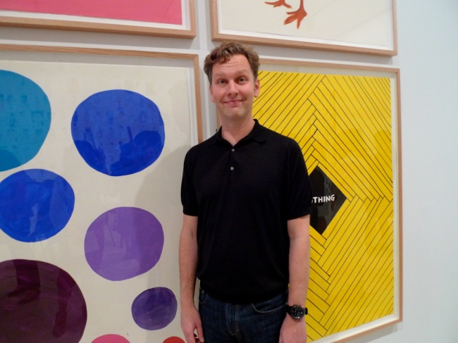 David Shrigley does colour
