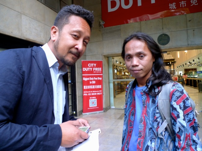 Jacob Tolo and Wukir Suryadi