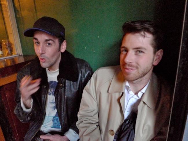 James Bowen and Carwyn McIntyre