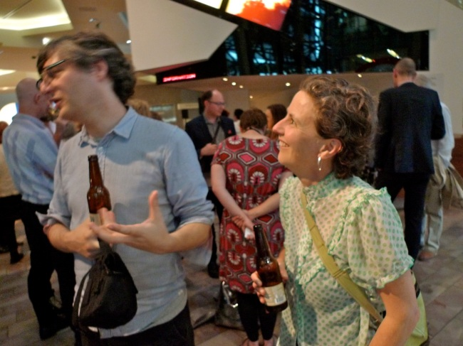 Joel Stern and Kylie Wilkinson