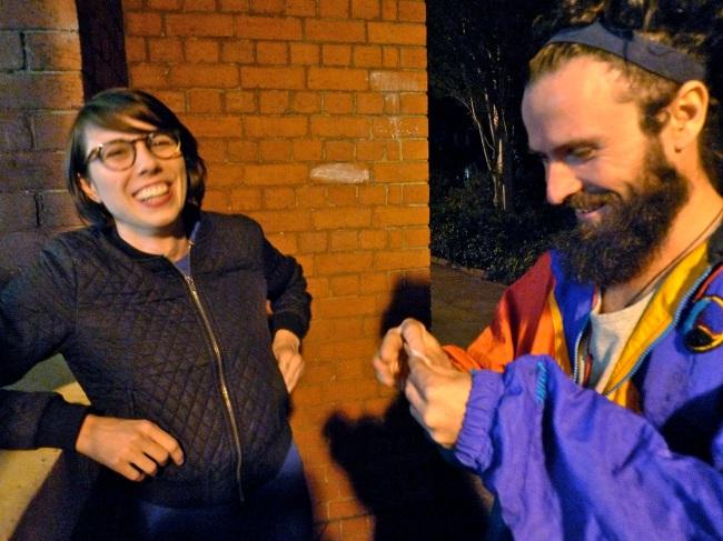 Michelle Gordon and Jason Mildren