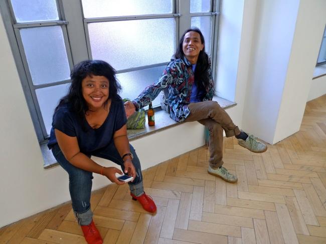 Taloi Havini and Wukir