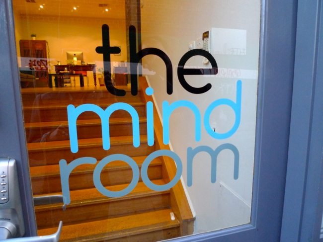 The neighbours are The Mind Room