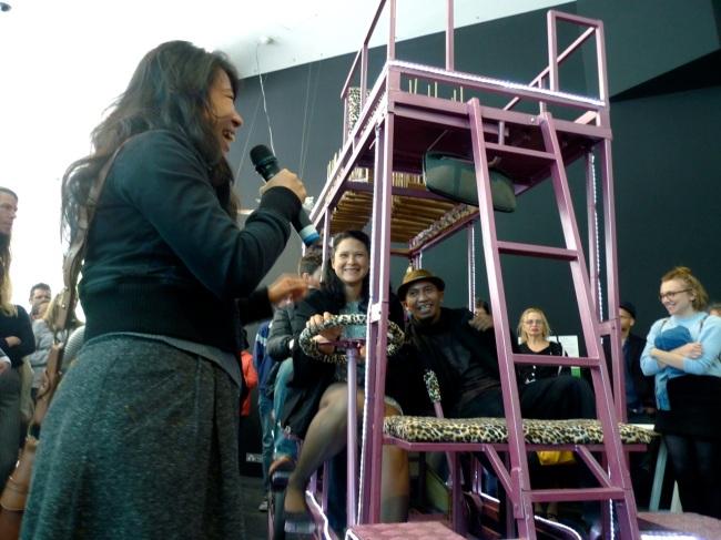 Tin Tin Wulia speaks about her work