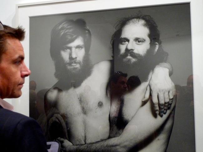 Allen Ginsberg and buddies