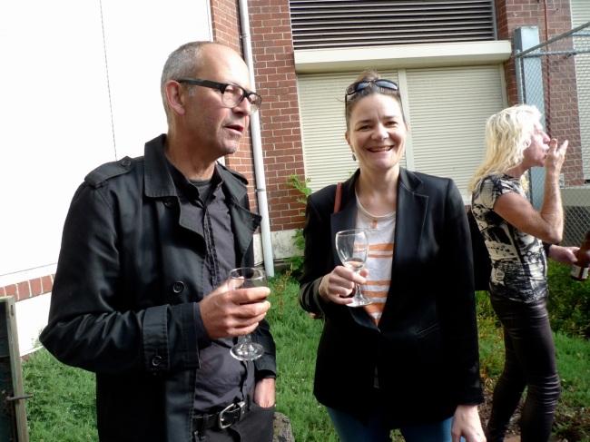 Ashley Crawford, Julia Gorman and the Keyboardist