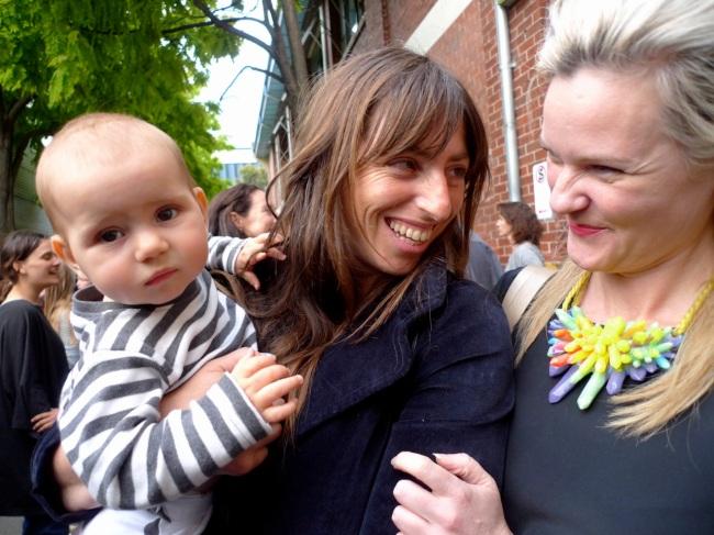 Cleo, Danielle and Simone Le Amon