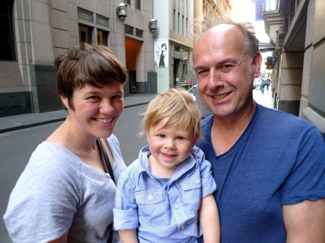 Harry the Hairdresser and his gorgeous family