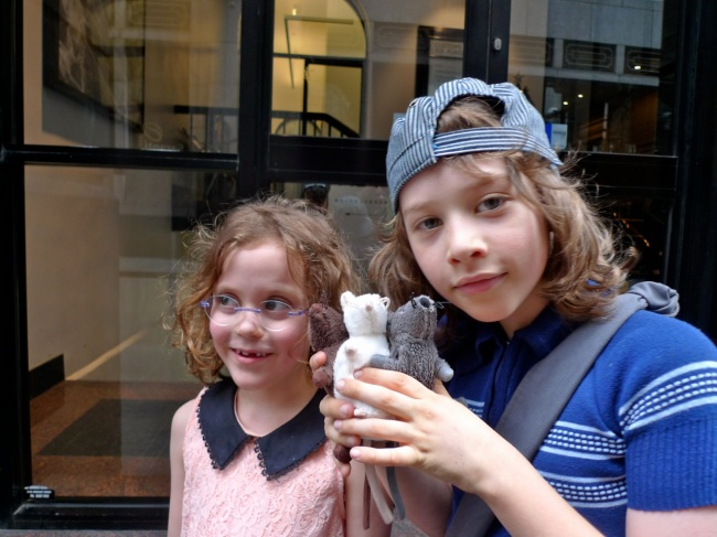 Inez and Devlin and a couple of rats