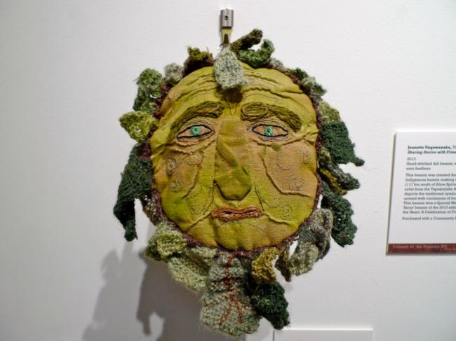 The Green Man by Jeanne Llewellyn, WA,  2012