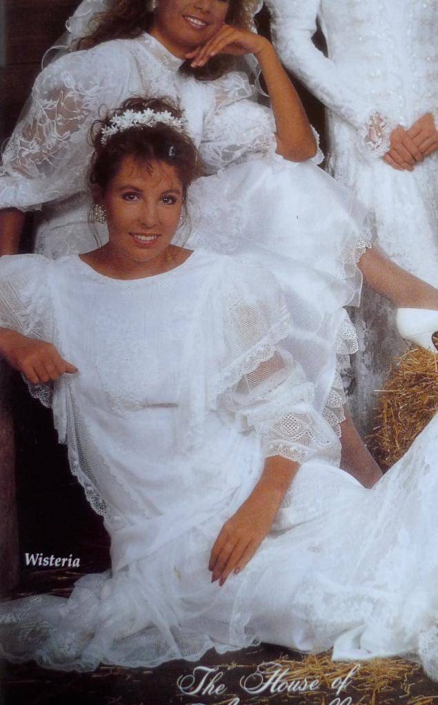 I model a bit some bridal