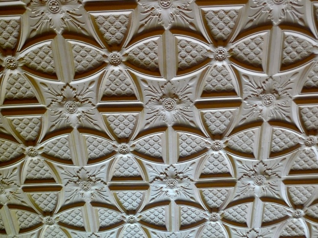 Plaster work, Bundoora Homestead