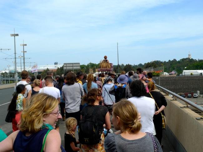 procession over the Bridge