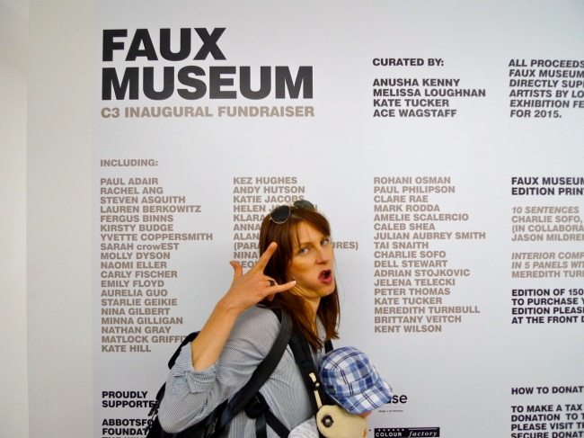 """It's a wall y'all"": Faux Museum"
