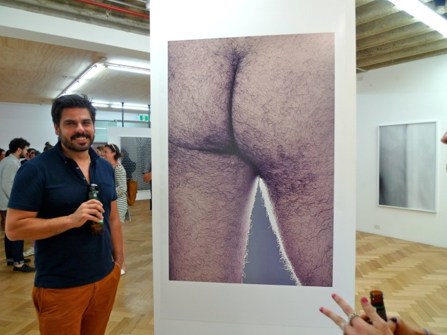 """""""That's my ass!"""" says Dr Nikos Pantazopoulos"""