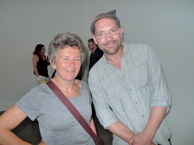 Liz Simpson and Ceri Hann
