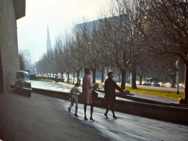 NGV in Winter by Angus O'Callaghan 1967-71