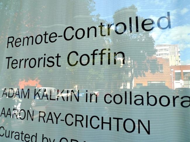 Remote-Controlled Terrorist Coffin