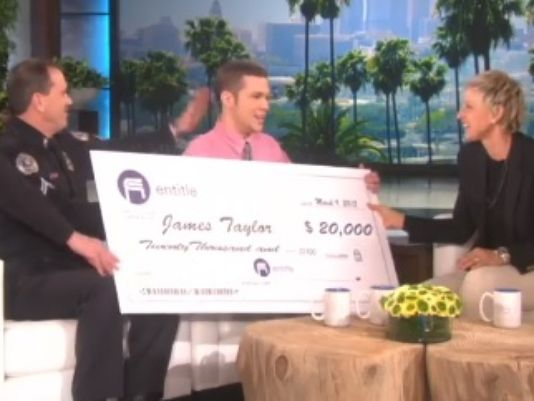 Turning Charity into entertainment with Ellen