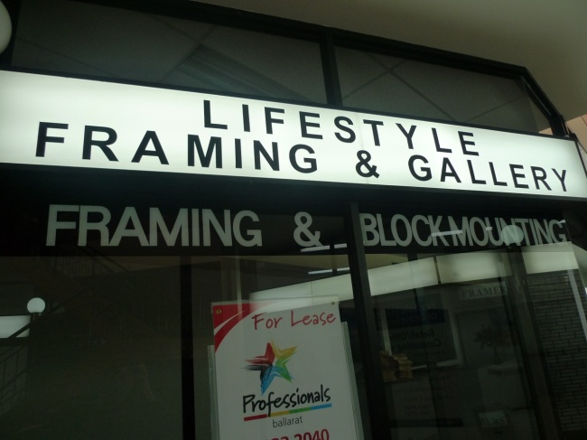 Lifestyle framing and gallery