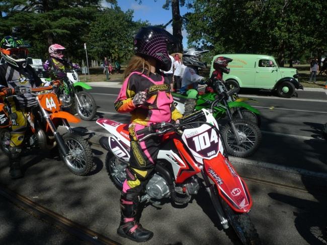 Motor cross kids