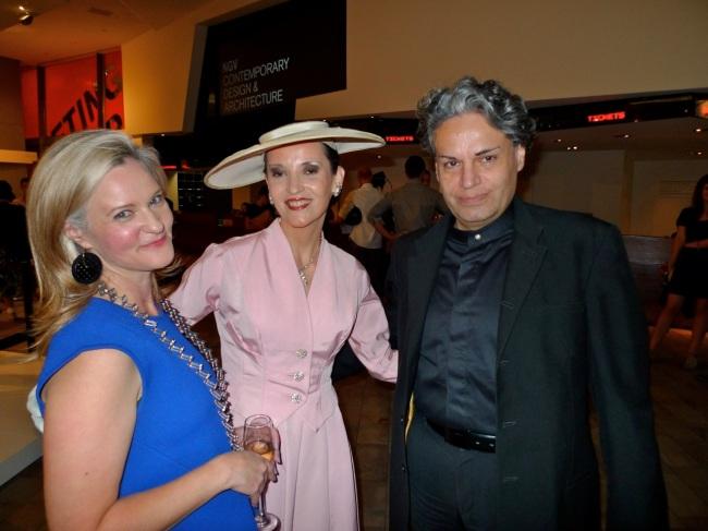 Simone Le Amon, Maria Del Carmen and Marcelo Stamn